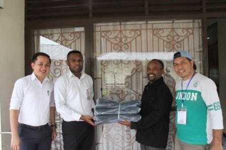 Bantuan CSR Kepada Panitia Pelaksana Rapat Kerja Klasis Kota Jayapura Gereja Kemah Injil Indonesia
